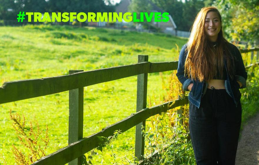 Transforming Lives ~ Bernice Swift ~ Ecology Student