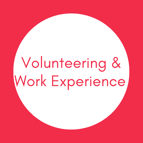 Volunteering & Work Experience
