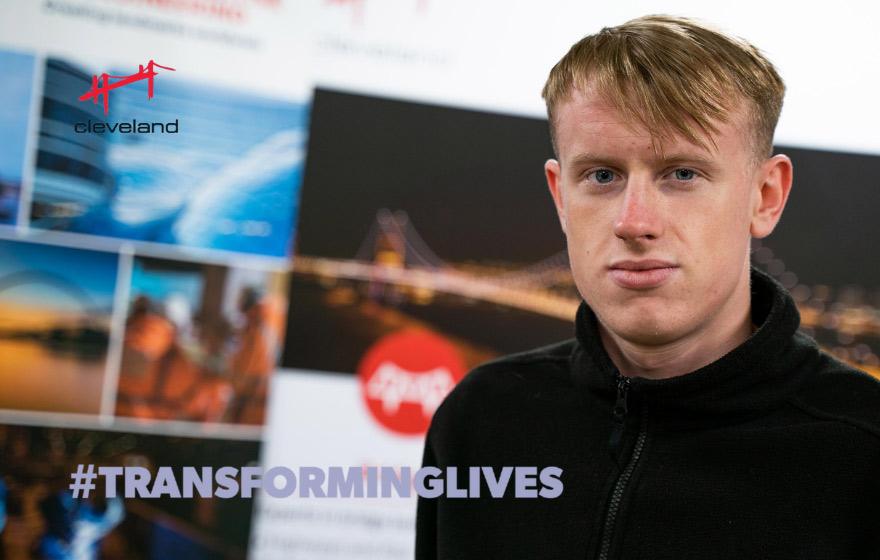 Leo Gibson - Apprentice Fabricator - Transforming Lives