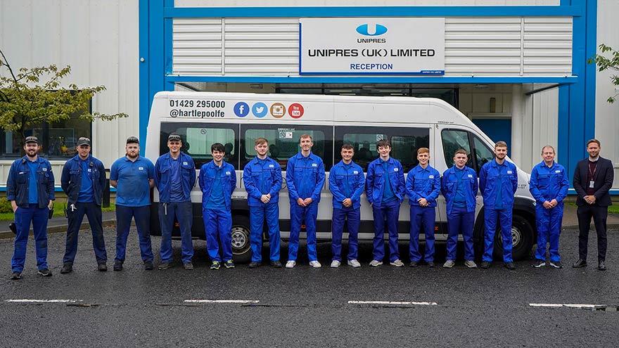 Unipres Apprentices