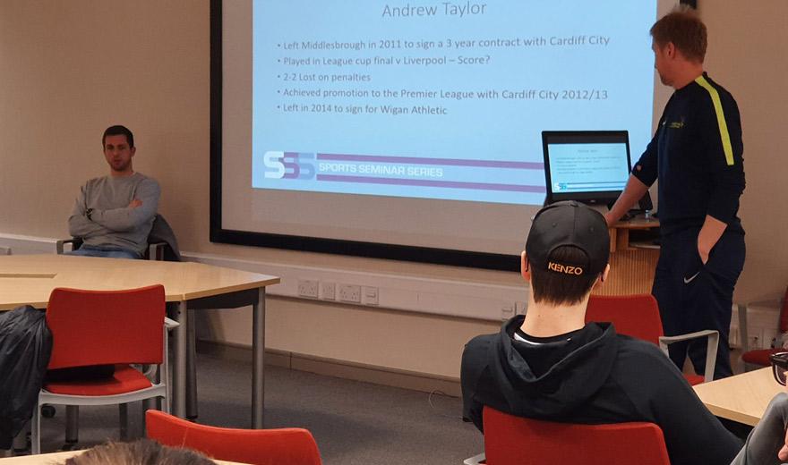 Andy Taylor Sports Seminar Series