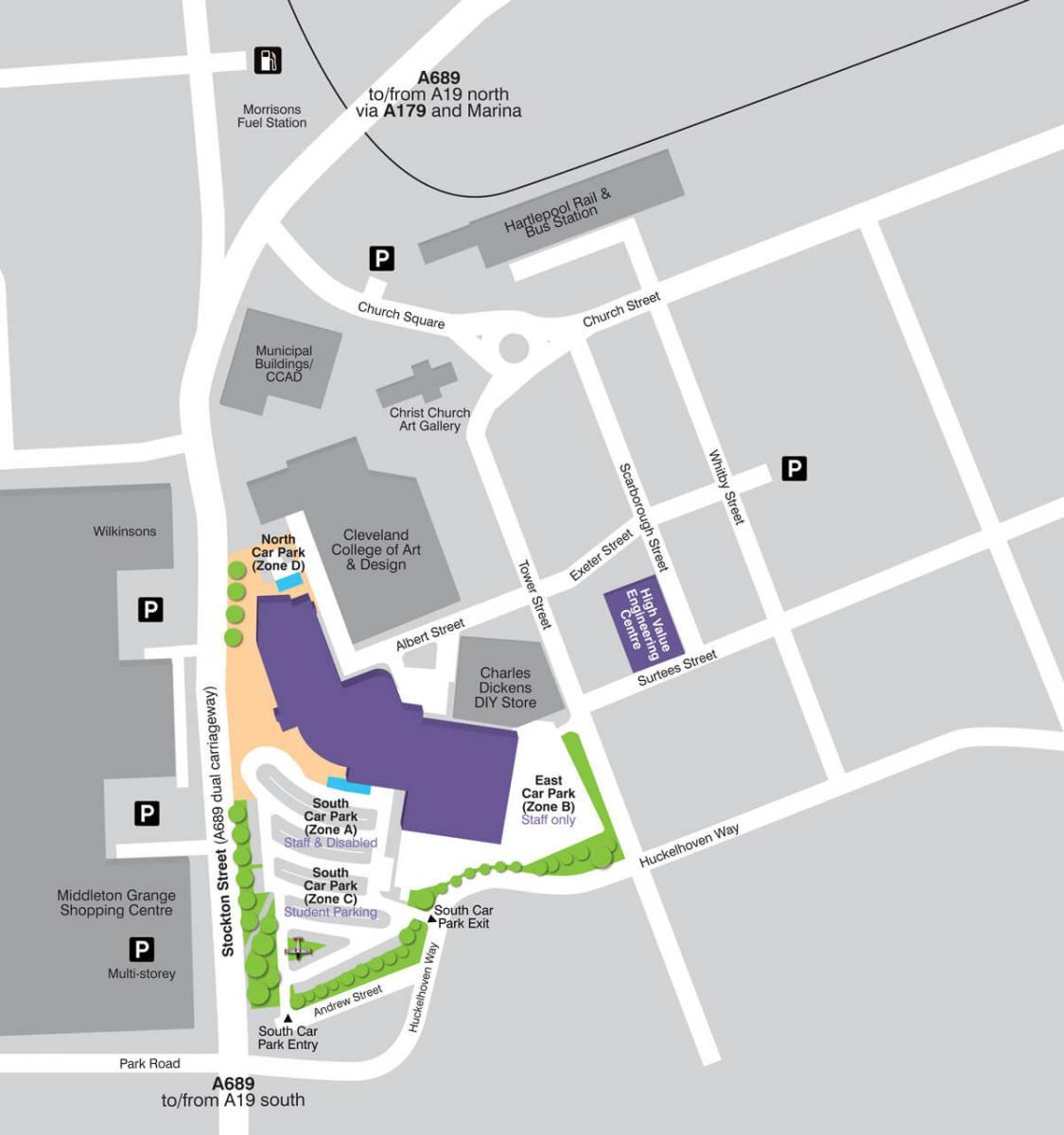 HCFE car park map 1