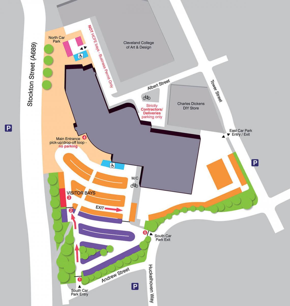 Car parking map 2