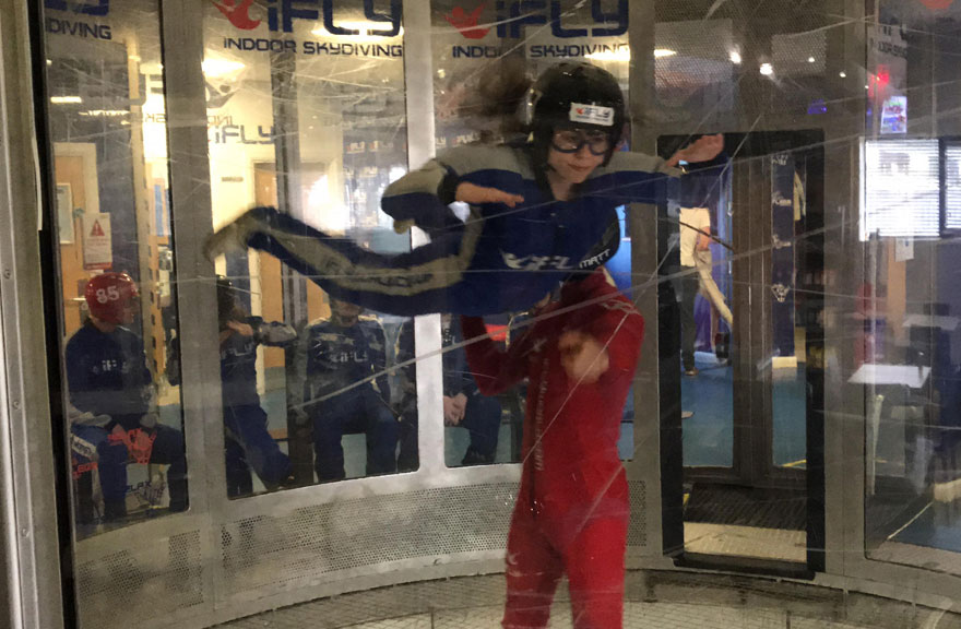 HCFE Science Student Flying High at the Museum of Science and Industry