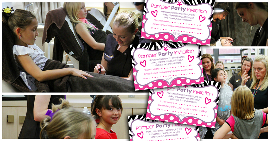 Kid's Pamper Day Party - Book your Party Now!